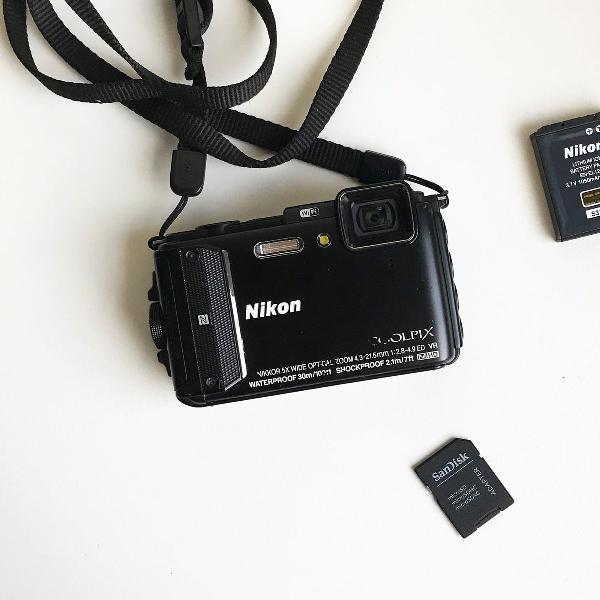 Nikon coolpix aw130 à prova d água