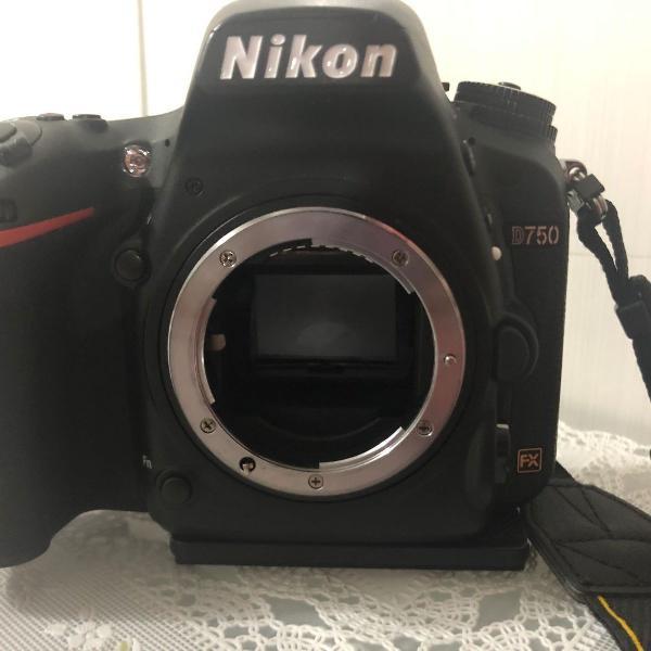 Nikon d750 + lente tamron + sdcard