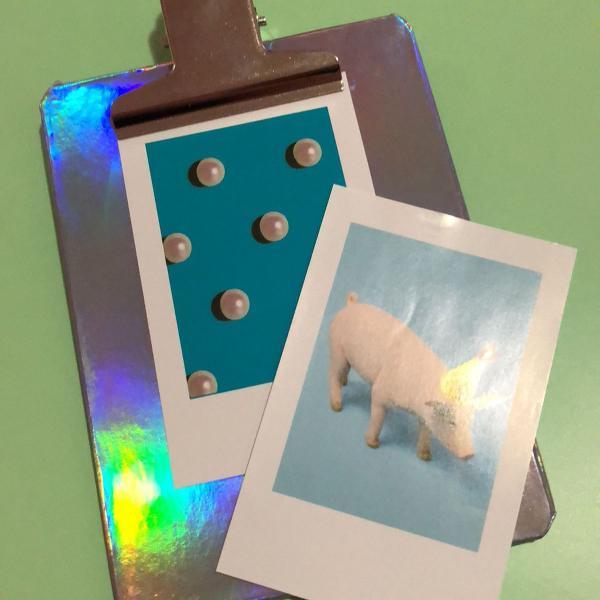 Prancheta polaroid / instax