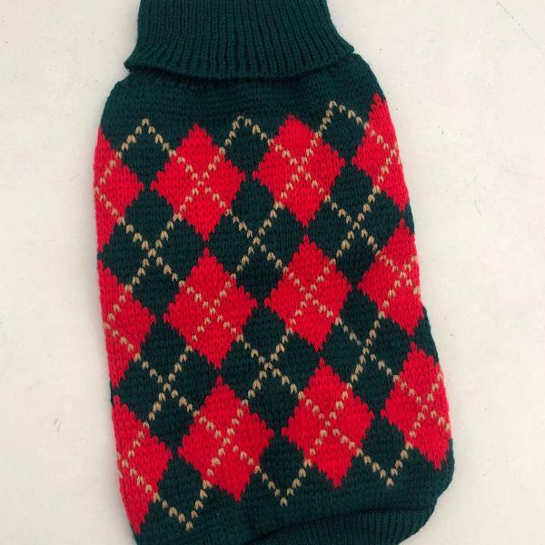 Roupa de trico pet