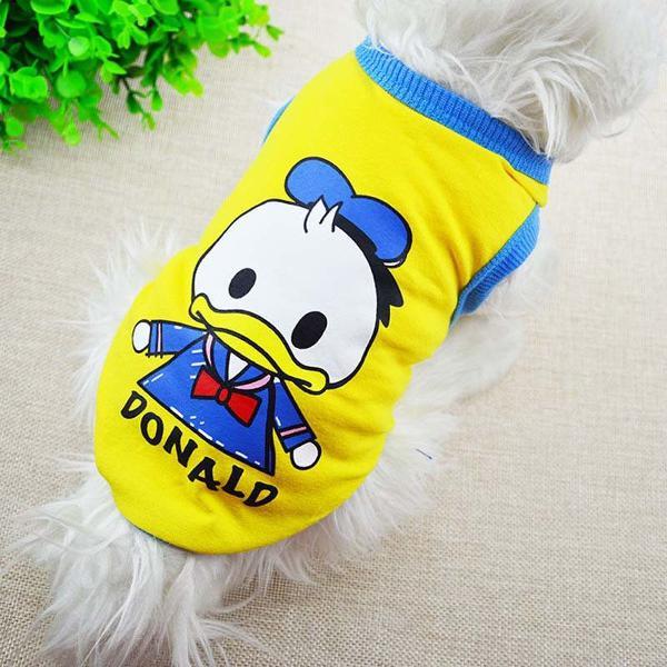 Roupinha caniseta pet cachorro cão gatos tamanho g pato