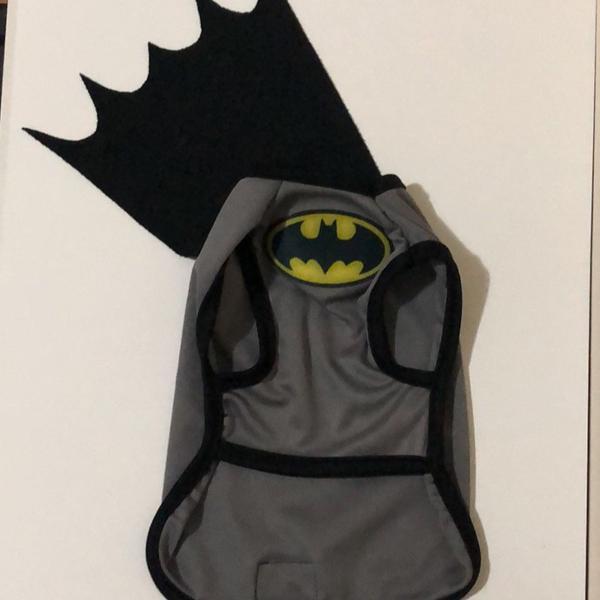 Roupinha pet batman