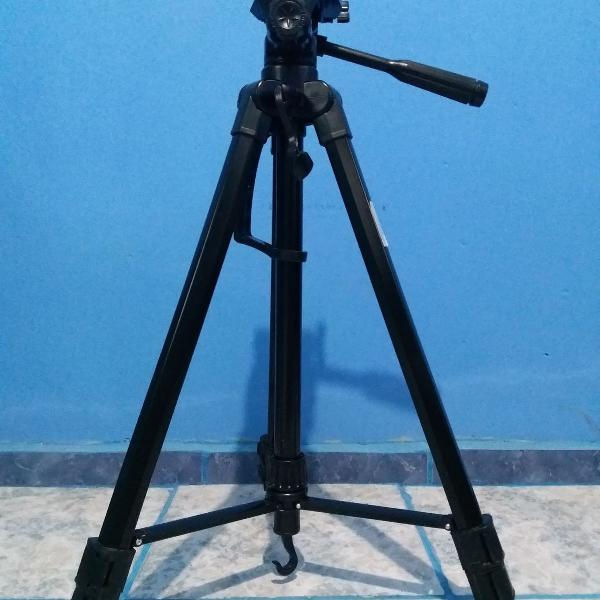 Tripé profissional universal para câmera fotográfica
