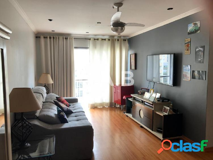 Apartamento no centro de alphvaille no ed columbia -3 dormitorios