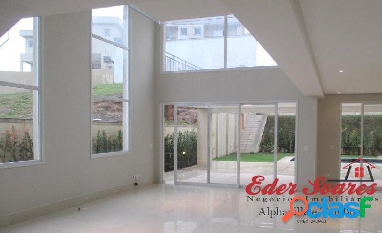 Ampla casa para locação no residencial campos do conde - 672m² at