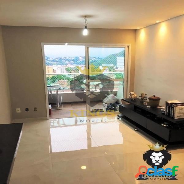 Apartamento 2 dorms 1 suíte, varanda com churrasqueira - área de lazer completa