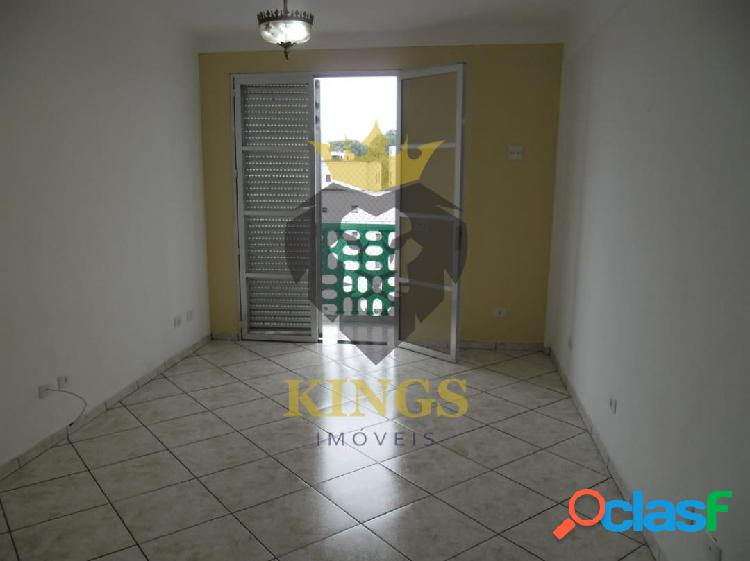 Apartamento 64 m² 1 dormitório, sala ampla com sacada