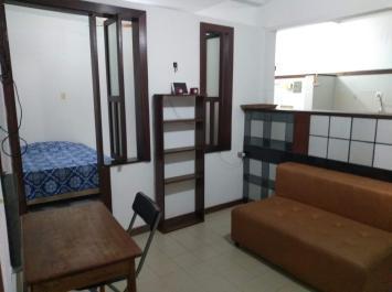 01 quarto e sala mobiliado, perto do atakarejo!