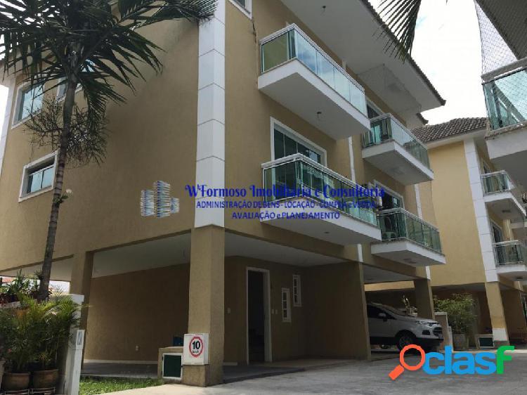 Casa dúplex-apartamento p/venda e locação, rua ambaitinga praia da bandeira