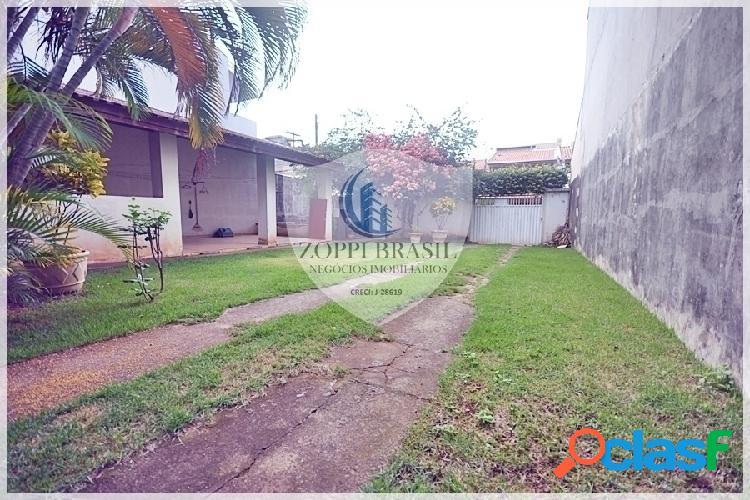 CA590 - Casa à Venda em Americana SP, Parque Residencial Jaguari, Sobrado c 2