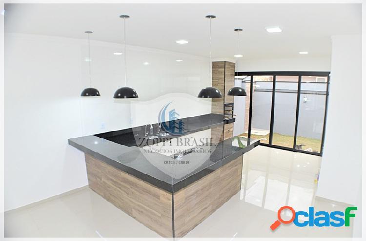 CA817 - Casa para venda em Sumaré, Condomínio Real Parque, 250m², 3 dormitó