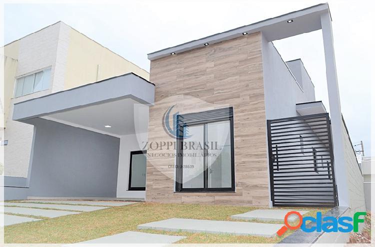 CA817 - Casa para venda em Sumaré, Condomínio Real Parque, 250m², 3 dormitó 1