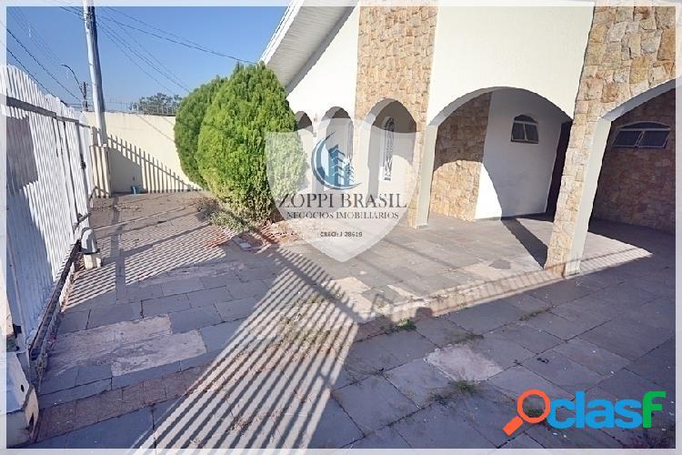CAL0044 - Casa para Locação em Americana SP< Werner Plaas, TÉRREA, 360 m2 t