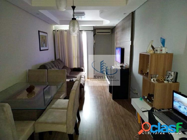 AP531 - Apartamento à venda em Americana, Residencial Jaguari, com 59m², 2