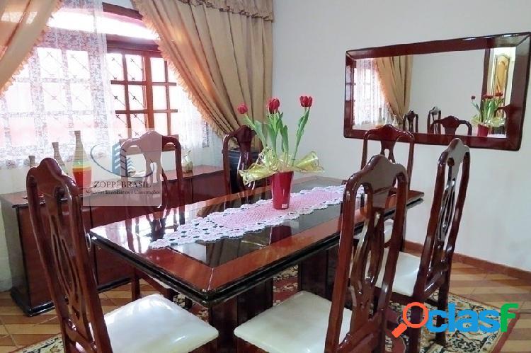 CA868 - Casa à venda em Nova Odessa, Bela Vista, com 211m², 3 dormitórios,