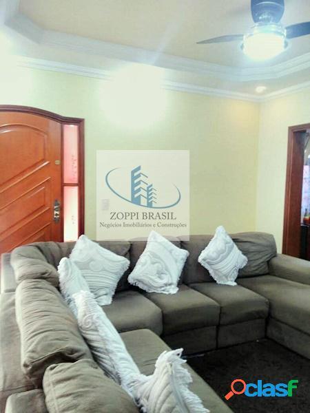 CA868 - Casa à venda em Nova Odessa, Bela Vista, com 211m², 3 dormitórios, 3