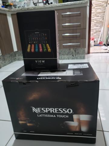 Cafeteira nespresso lattissima touch (pra vender hj)