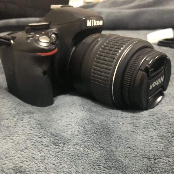 Câmera nikon d5100 + lente 18- 55 mm