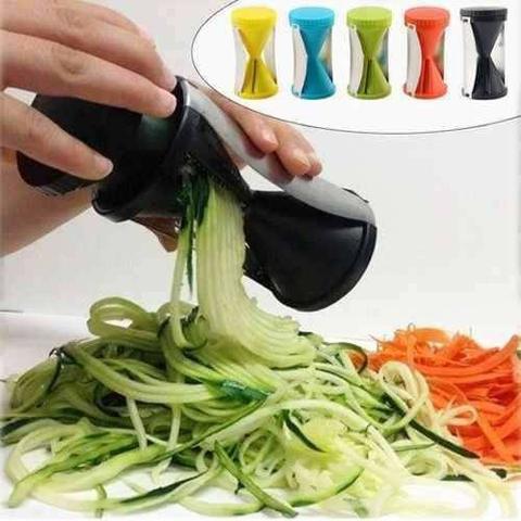 Cortador espiral de legumes macarrão