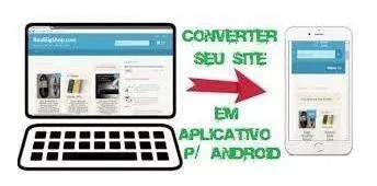 Criar um aplicativo para seu site
