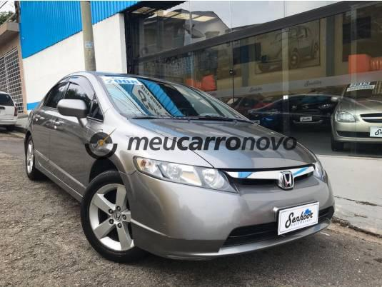 Honda civic sedan lxs 1.8/1.8 flex 16v aut. 4p 2008/2008