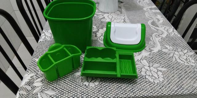 Kit para pia cozinha (pouco usado)