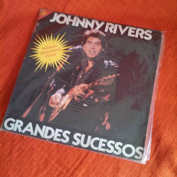 Lp vinil johnny rivers - grandes sucessos