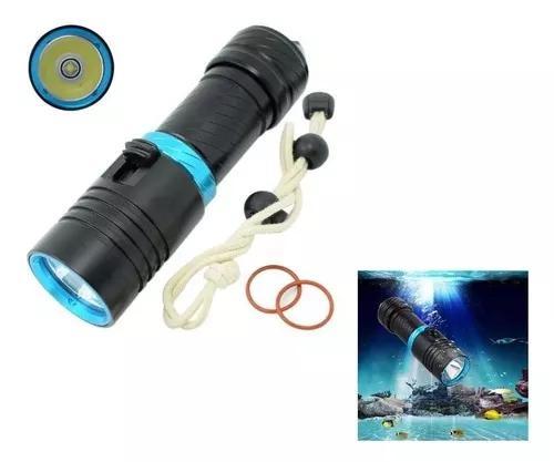 Lanterna de mergulho recarregável 1800000w