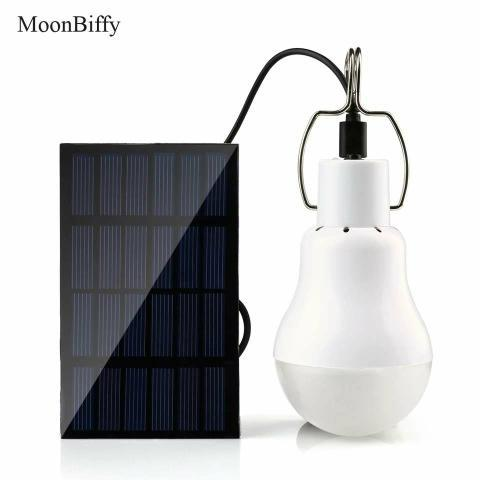 Lâmpada solar