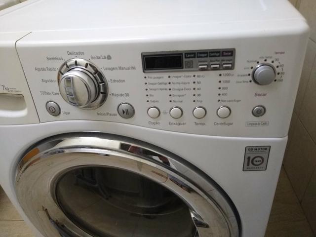 Máquina de lavar lg - lava 11kg seca 7kg