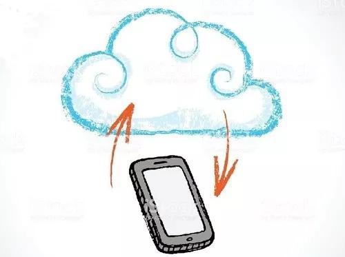 Pacote de sete dias para plataforma de celular na nuv