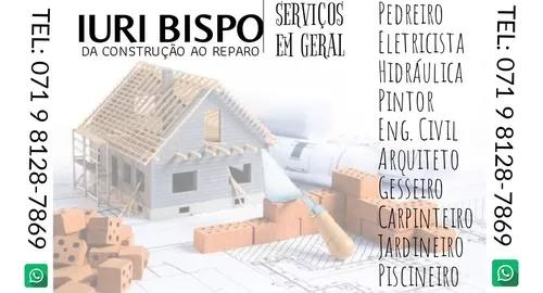 Serviços gerais construção civil