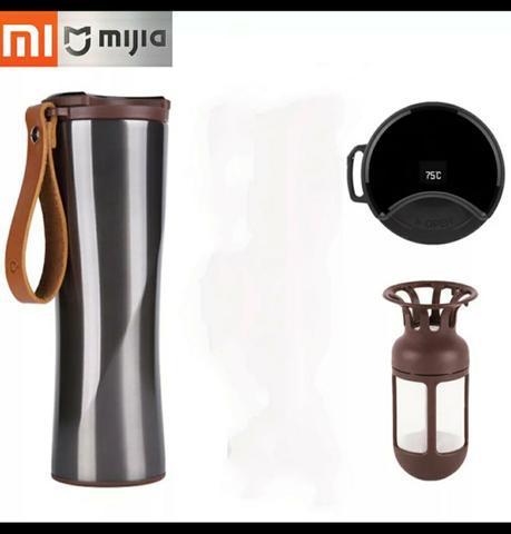 Squeeze garrafa térmica xiaomi original água café. nova