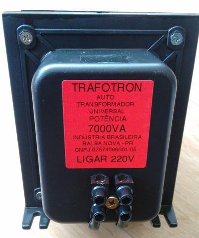 Transformador de 70000va para ar split de 7500btus até