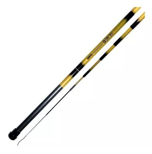 Vara de pesca bamboo 3006 telescópica 3m marine sports
