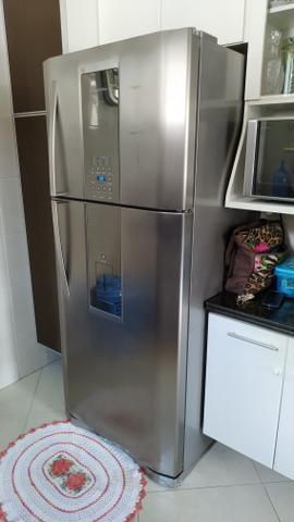 Vendo geladeira eletrolux infinity duplex inox