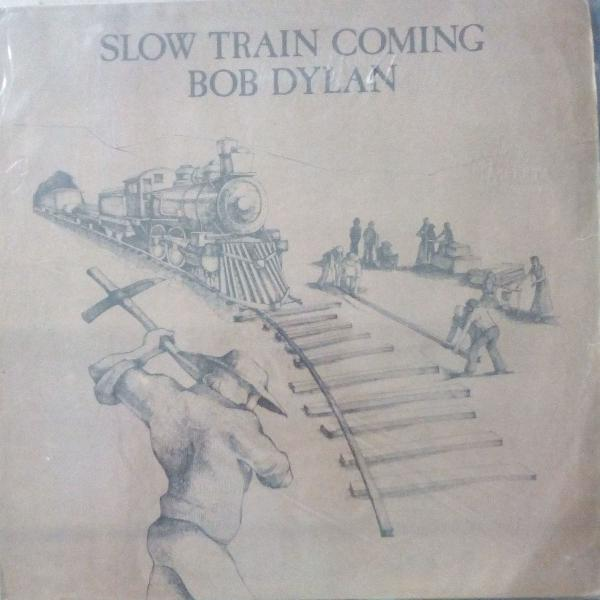 Vinil lp bob dylan - slow train coming