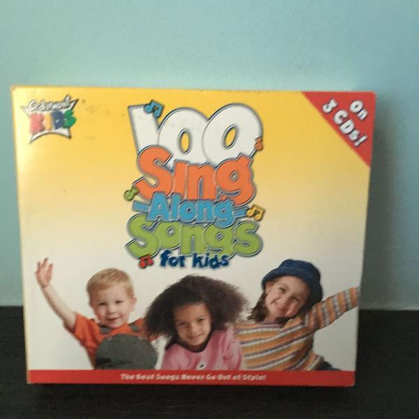 Box 3 cds infantis em inglês
