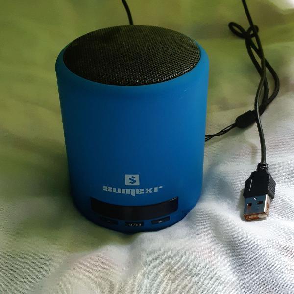 Caixa som bluetooth favix a1 sumexr, sem fio, fm, mega bass,