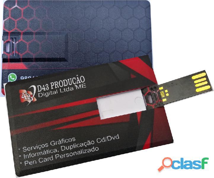 Cartão pen card personalizado pen driver personalizado