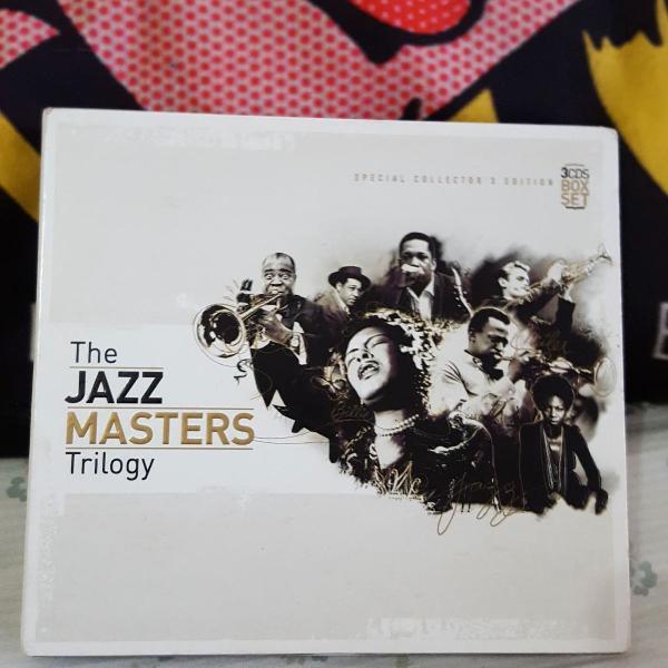 Cd box set triplo the jazz masters trilogy