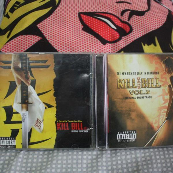 Cds kill bill vol. 1 e 2 original soundtrack