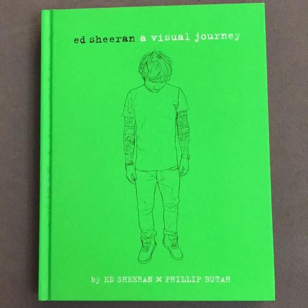 Livro ed sheeran a visual journey