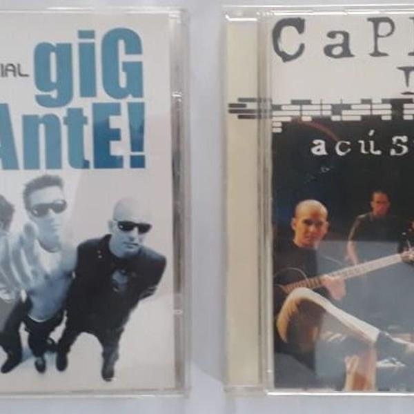 Lote 2 cds originais - capital inicial - gigante / acústico