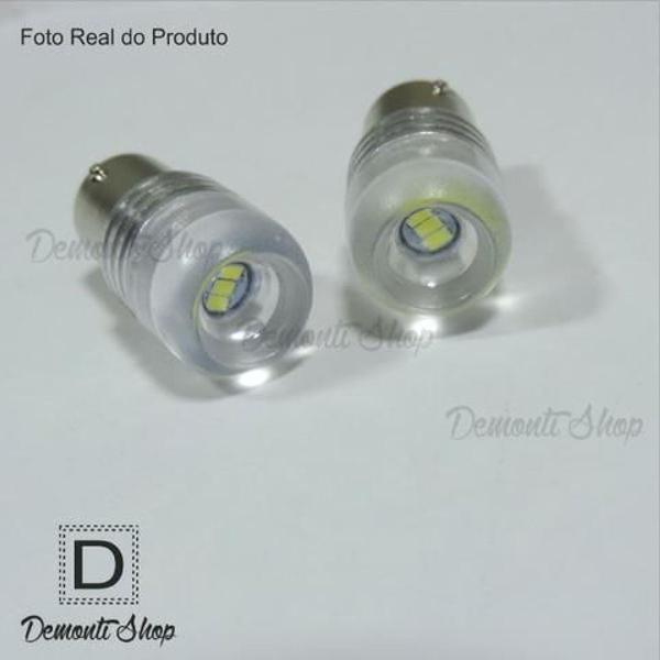 Par lâmpada luz led ré placa 1 polo 1156 ba15s p21w cob