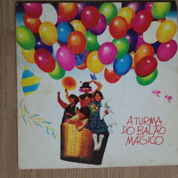 Vinil a turma do balão mágico