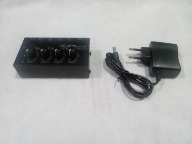 Amplificador de fones de ouvido micro amp ha 400 em goiana