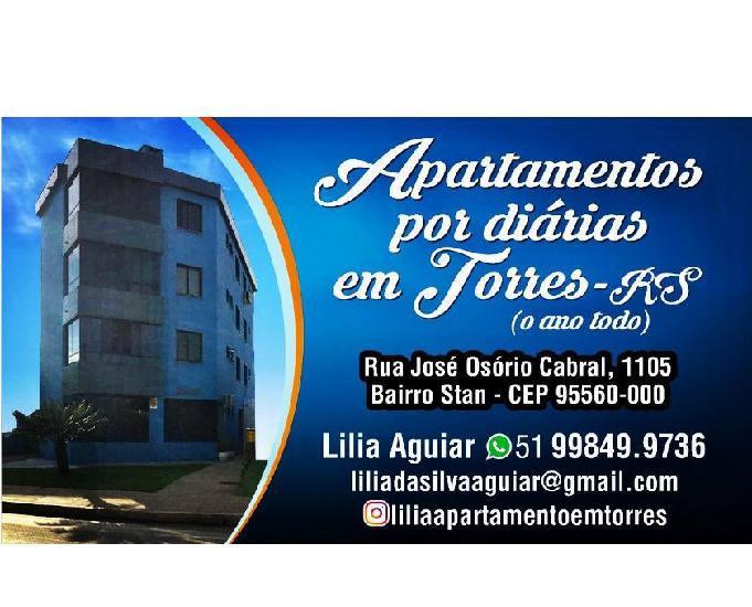 Apartamentos em torres rs