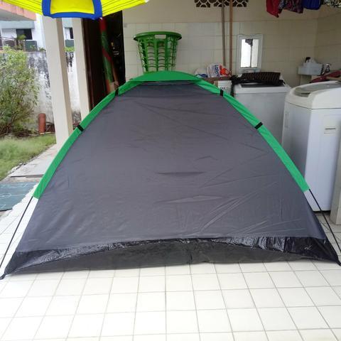 Barraca de camping para 3 pessoas importada em poliéster