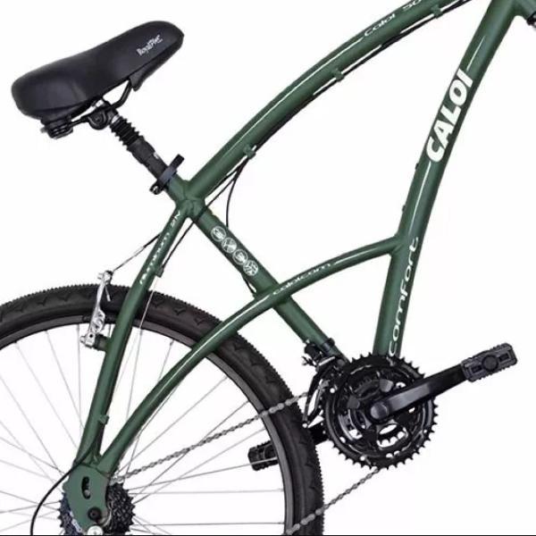Bicicleta caloi 500 conforto alumínio perfeito estado